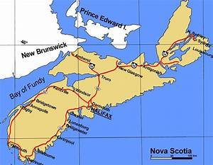 nova scotia canada city map