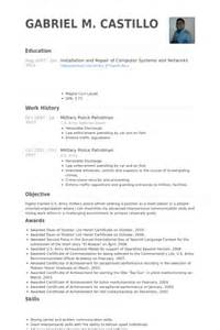 us army soldier resume resume sles visualcv resume sles database