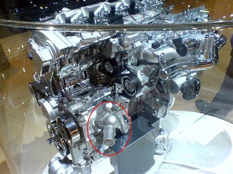 thermostat wechseln motor getriebe lexus owners club