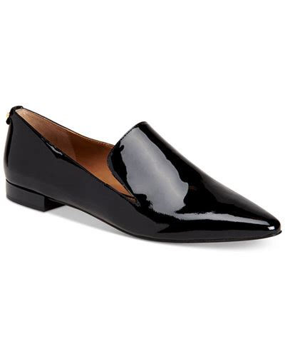 calvin klein womens elin pointed toe flats created