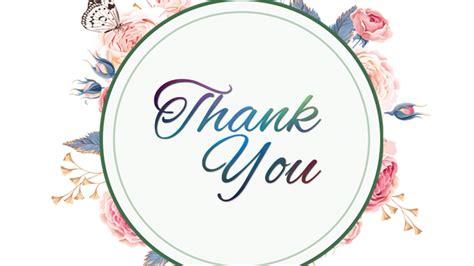 Thank You ForPresentation Floral SlideEgg
