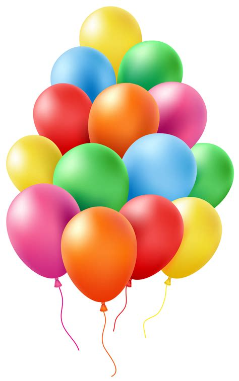 Balloons Clip Art PNG Transparent Image Gallery