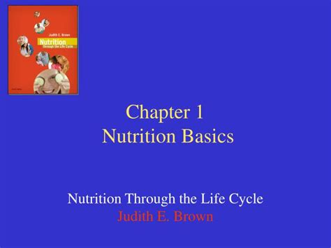 Chapter 1 Nutrition Basics Powerpoint Presentation