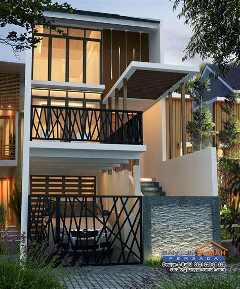 desain rumah  lantai  lahan     brp