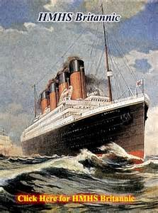 RMS Olympic Titanic and Britannic
