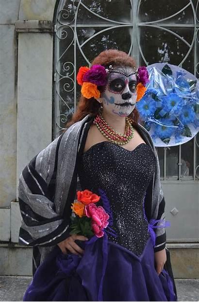 Catrina Dead Festivals Mexico Popular 5k 2k