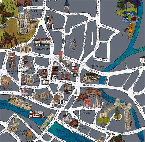york map fine art print katie cardew illustrations