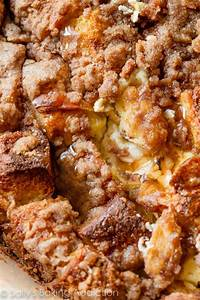 Baked Cream Cheese French Toast Casserole Sallys Baking