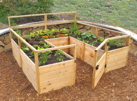 Elevated Garden cedar complete raised garden bed kit 8 x 8 x 20