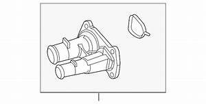 33 2004 Ford Explorer Thermostat Housing Diagram