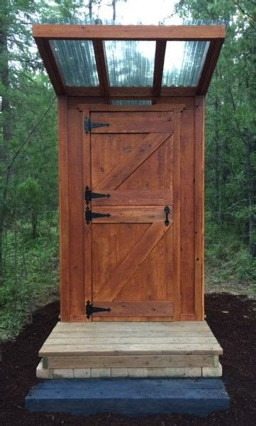 pacific northwest privy diy outhouse