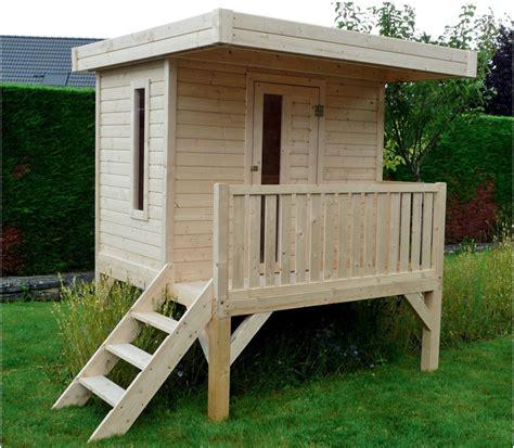 cabane de jardin enfant abris de jardin cabane enfant playhouse modern solid chez