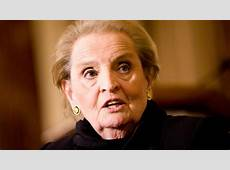 Madeline Albright First Female Secretary of State