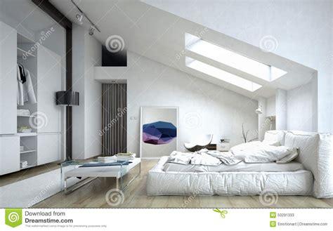 plan maison 1 騁age 3 chambres chambre à coucher architecturale à l 39 intérieur de la maison blanche illustration stock image 50291333