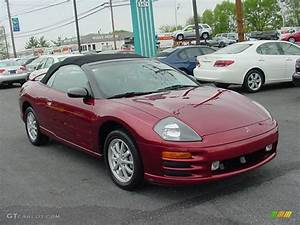 2001 Patriot Red Pearl Mitsubishi Eclipse Spyder Gs