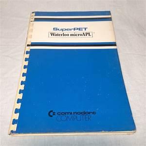 Commodore Superpet Waterloo Microapl User Manual Guide