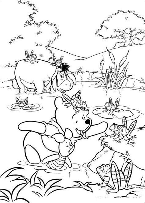 krafty kidz center winnie  pooh coloring pages