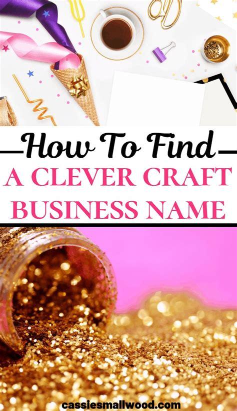 brainstorm  craft business  craft business