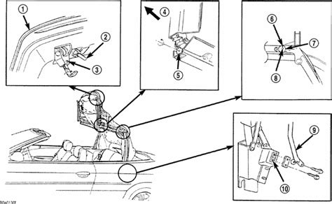 Sebring Convertible Parts Diagram Downloaddescargar
