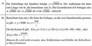 Produktionsfunktion Berechnen : funktion ein tierpark plant eine rechteckige fl che als gehege mit 6 bereichen anzulegen ~ Themetempest.com Abrechnung