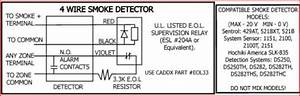 Home Run 4-wire Smoke Detectors And Nx-8