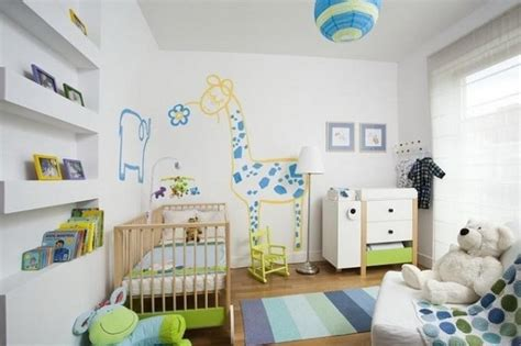 Wandgestaltung Kinderzimmer Bett by Kinderzimmer Junge Gestalten