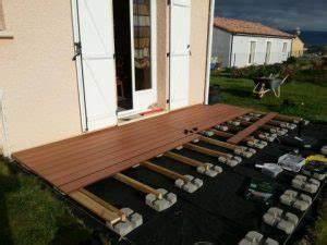 prix de pose d39une terrasse en bois monequerrefr With prix terrasse bois posee