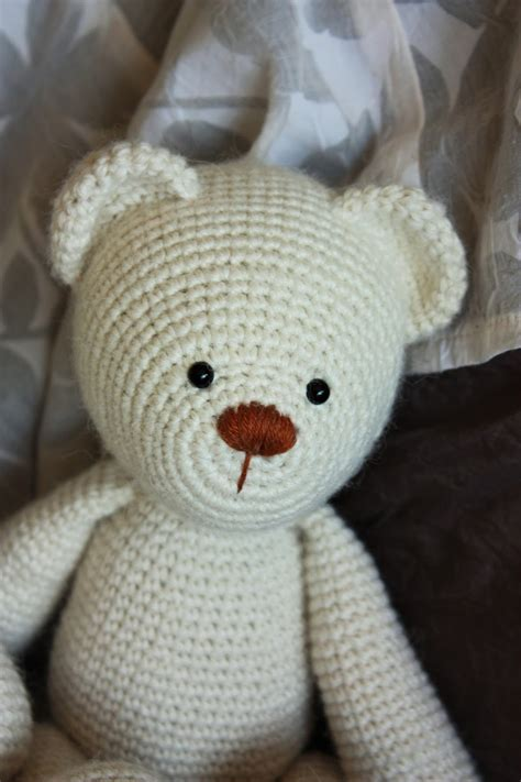 crochet teddy happyamigurumi lucas the teddy bear pattern new teddy bear friends
