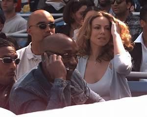 Mariah Carey at Derek Jeter's Yankee game, 1998 - Photos ...