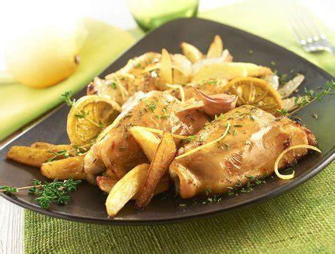 cuisiner haut de cuisse de poulet hauts de cuisse de poulet au citron recette maître coq