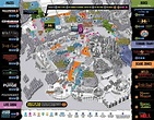 Park Map - Universal Studios Hollywood: Halloween Horror ...