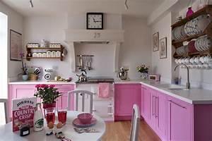 Pink, Kitchens