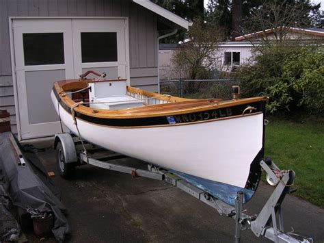Wood Boat Hull Design by Wood Fishing Boat For Lakes