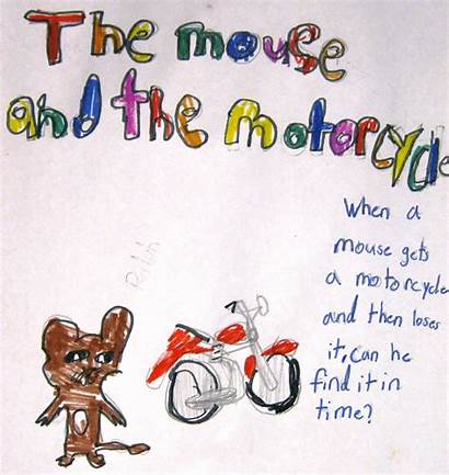 Motorcycle Mouse Mice Nice Rather Think Poster