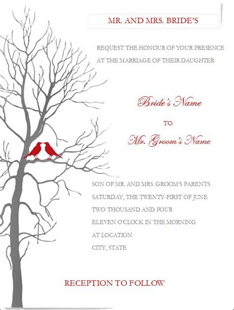 free wedding templates free wedding invitation templates for microsoft word