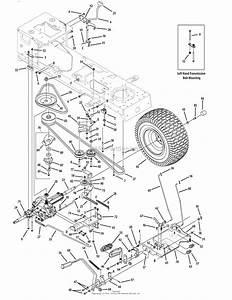 Troy Bilt 13ax60kh066 Super Bronco  2009  Parts Diagram