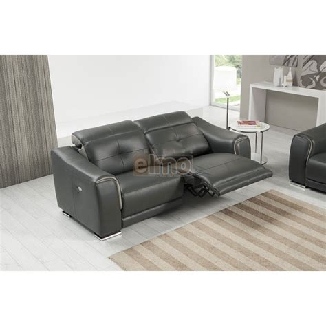 relax canap 233 relaxation moderne 3 places cuir noir cobra