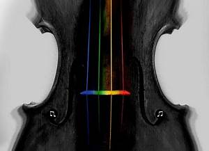True Colors of the Violin - Other & Abstract Background ...