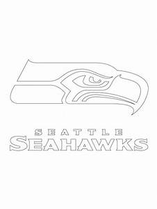 Printable Seattle Seahawks Logo Coloring Pages Kidskat