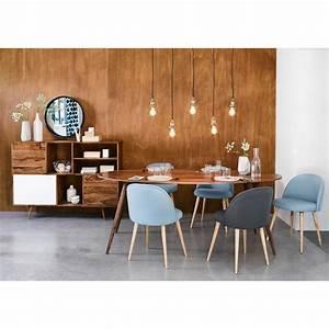 Maison Du Monde Essen : ovaler esstisch aus massivem sheeshamholz l200 in 2019 k chen design esstisch tisch und ~ Buech-reservation.com Haus und Dekorationen