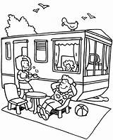 Coloring Camping Topcoloringpages Holiday sketch template
