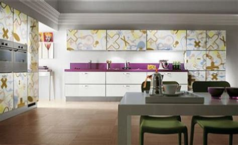 cocinas modernas  estampadas por scavolini interiores
