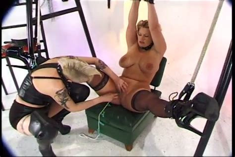 Beautiful Blonde Milf Is A Bdsm Sex Slave For Freaky Lady