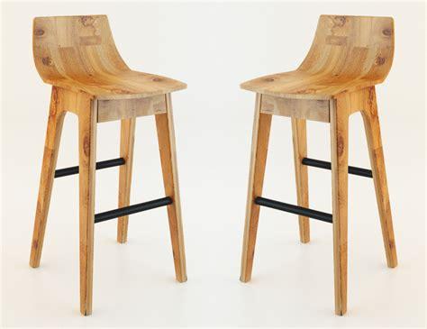 wooden bar stool 3d model max cgtrader