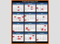 Punjab India Public Holidays 2017 – Holidays Tracker