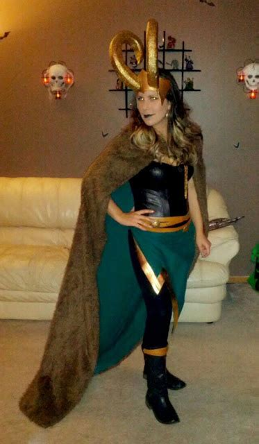 Maybeoblivious Lady Loki Halloween 2012