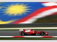 BBC Sport F1 Malaysian Grand Prix practice photos