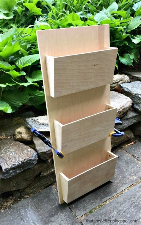 mail sorter desk organization diy mail organizer wall diy
