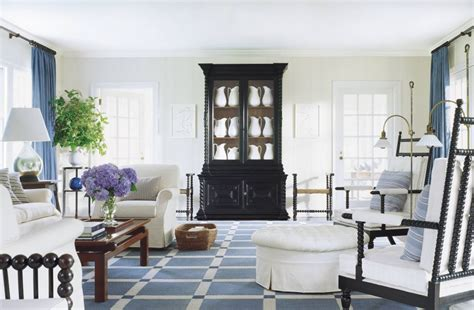 Beach Living Room By Thad Hayes By Architectural Digest