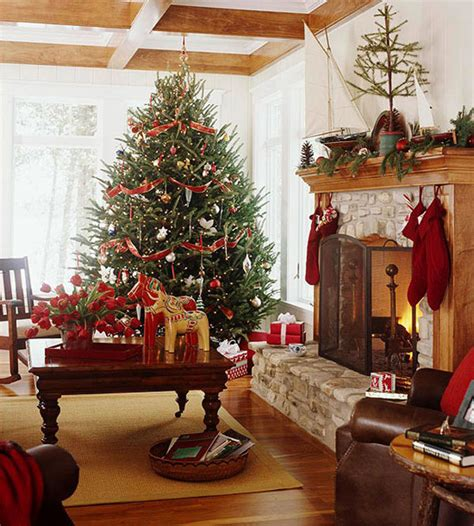 cosy christmas living room decorating ideas gravetics